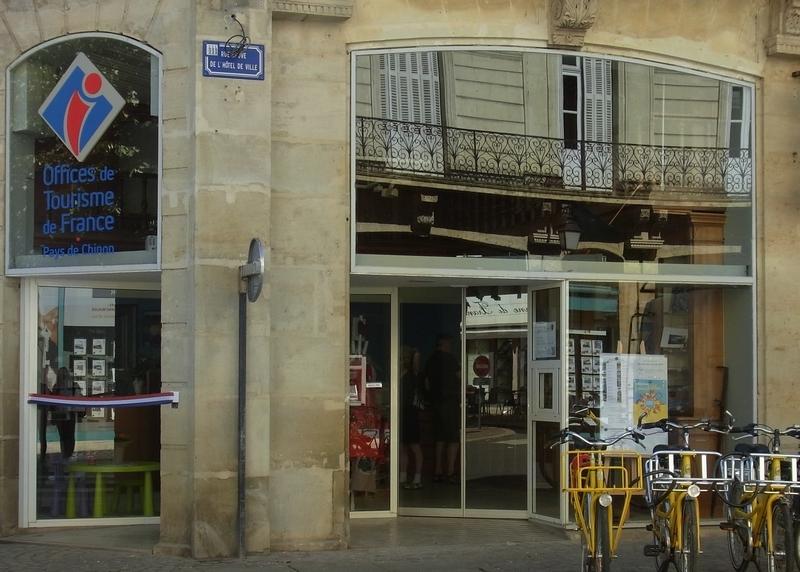 Office de Tourisme Azay-Chinon Val de Loire, Bureau d'accueil de Chinon à CHINON © Office de Tourisme du Pays de Chinon