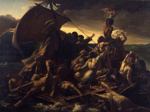 Exposition Girodet face à Géricault ou la bataille romantique du salon de 1819 à MONTARGIS - 2  © Musée Maritime de Rochefort