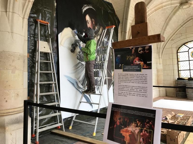 Exposition Ravo Mattoni au Château Royal d'Amboise à AMBOISE © Jérôme Huet / ADT Touraine