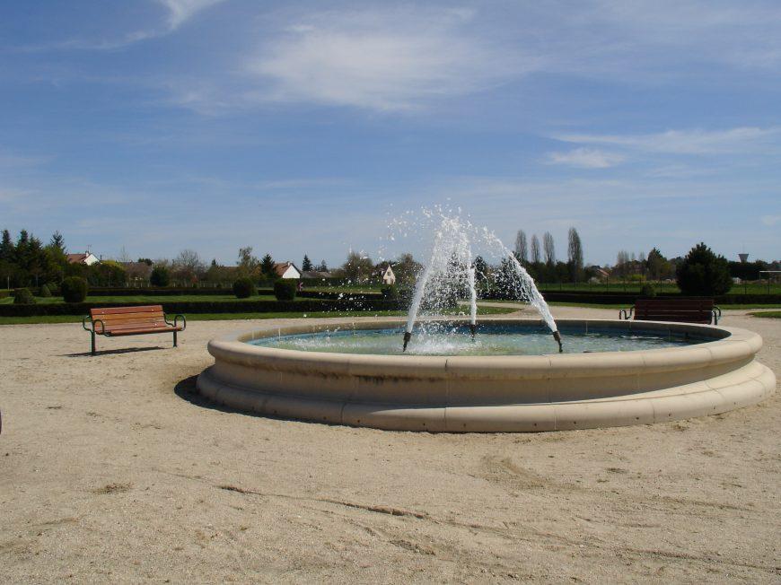 Parc à la Française à VILLEMANDEUR © OT AME