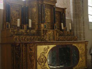 Eglise Saint-Martin et crypte Saint-Pipe à BEAUNE-LA-ROLANDE - 4  ©  Tourisme Loiret