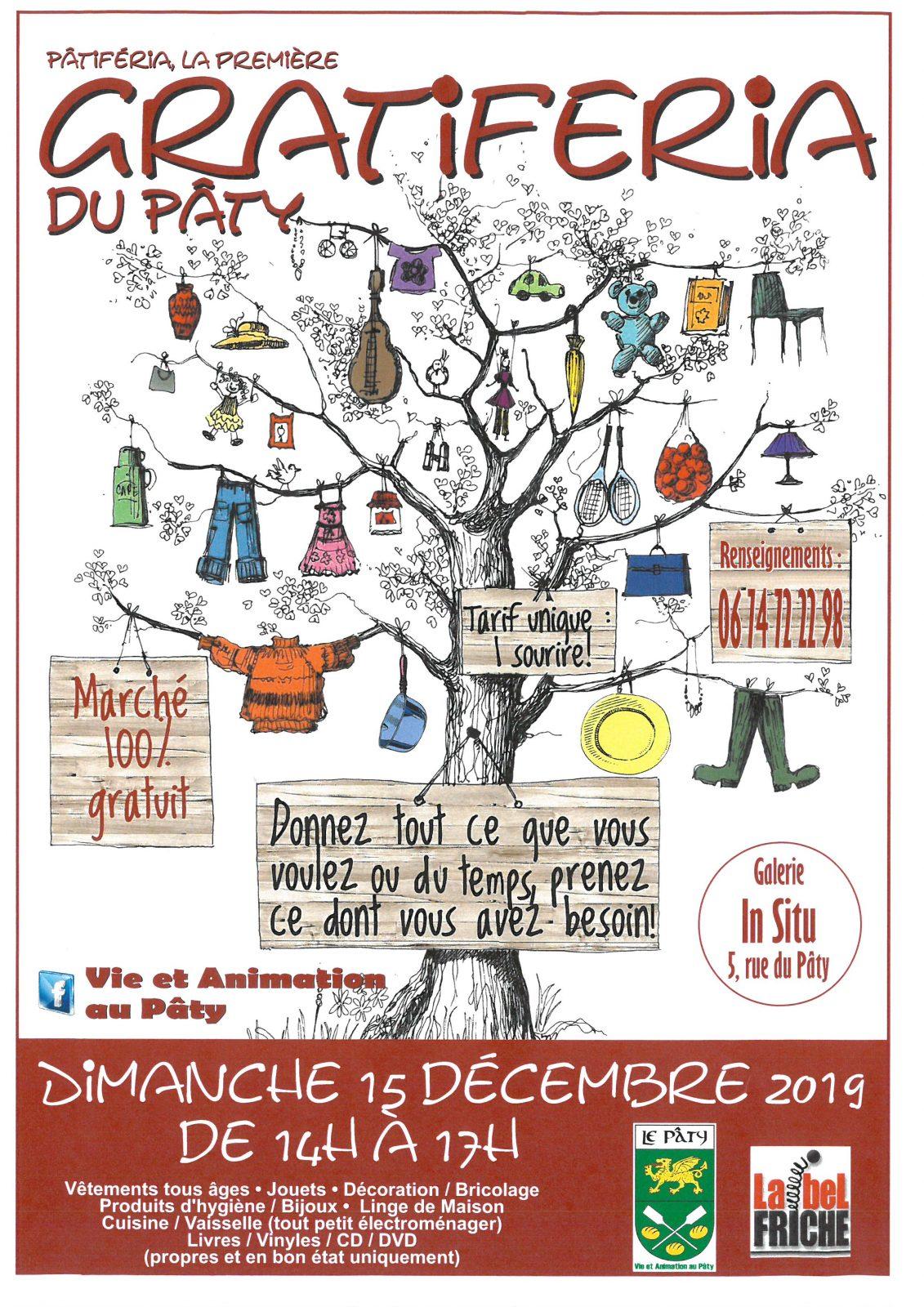 Marché Gratiferia 100% gratuit à NOGENT-LE-ROTROU © Vie et animation au Paty