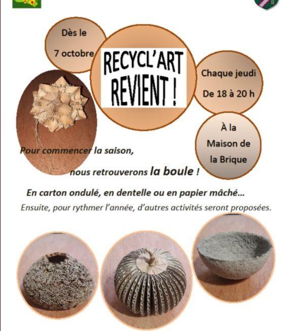 Recycl'Art Revient ! à LIGNY-LE-RIBAULT © Ligny-le-Ribault