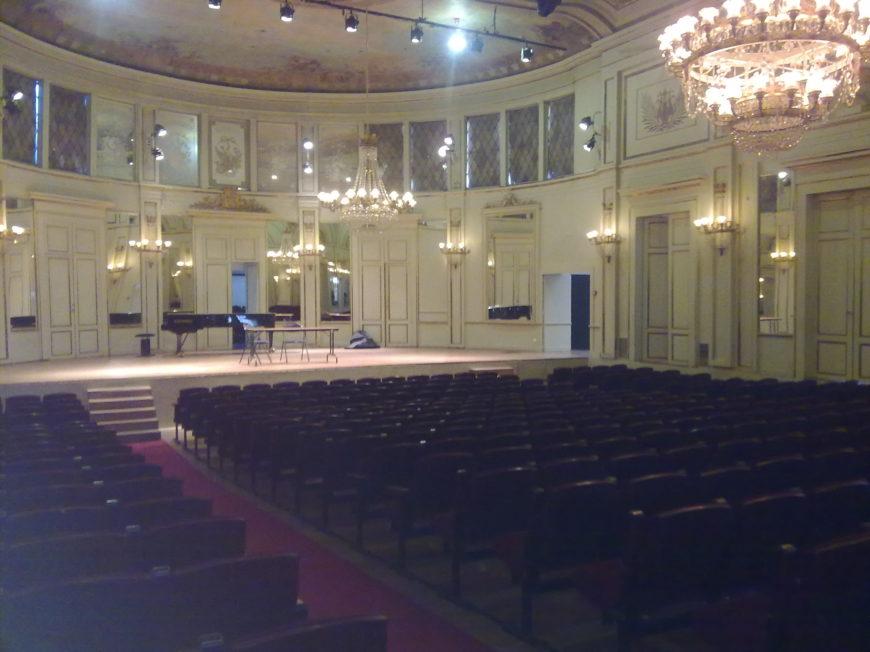 Salle de l'Institut à ORLEANS © Orleans Metropole