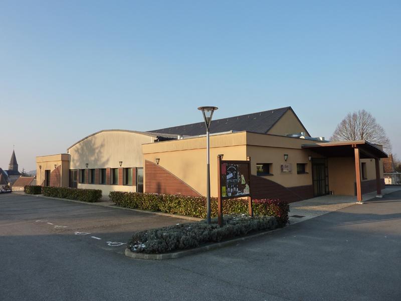 Salle des fêtes à ARGENVILLIERS © Office de Tourisme Nogent le Rotrou
