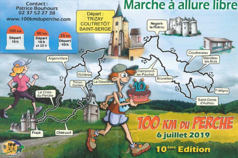 Les 100 km du Perche à TRIZAY-COUTRETOT-SAINT-SERGE © Les 100 km du Perche