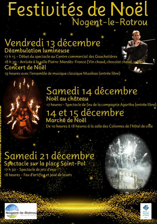Noël : soirée spectacles à NOGENT-LE-ROTROU © mairie nogent