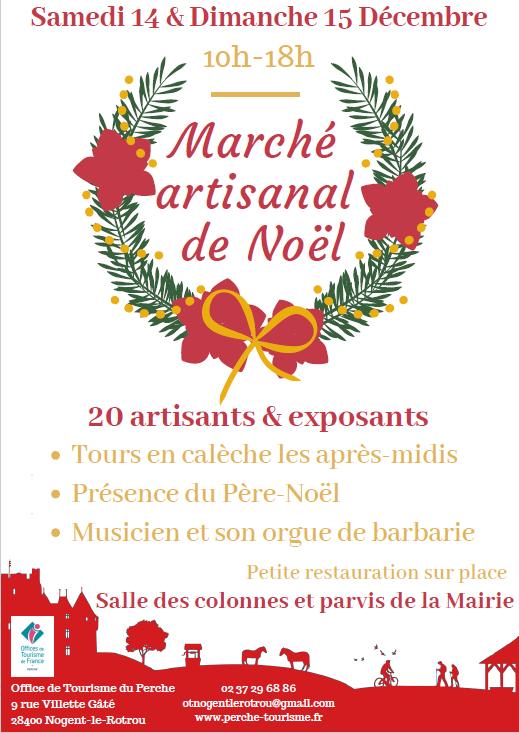 Marché de Noël, artisanat et produits locaux à NOGENT-LE-ROTROU © OT du Perche