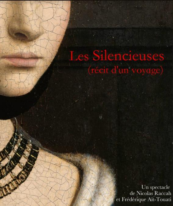 Spectacle «Les Silencieuses ou Récit d'un Voyage» à NOGENT-LE-ROTROU © asso remy belleau