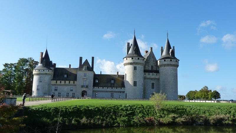 Château de Sully-sur-Loire à SULLY-SUR-LOIRE © F.Maret