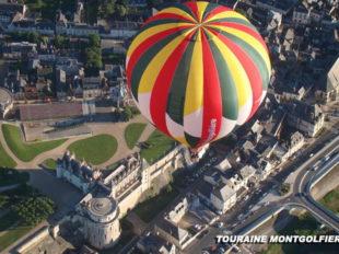 Touraine Montgolfière® à NAZELLES-NEGRON - 3  © Touraine Montgolfière