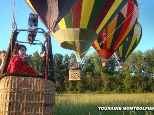 Touraine Montgolfière® à NAZELLES-NEGRON - 8  © Touraine Montgolfière