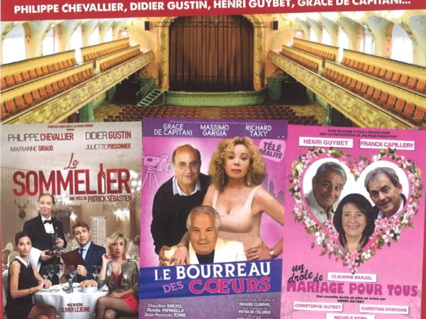 Un dimanche au théâtre : le bourreau des coeurs à MONTARGIS - 1