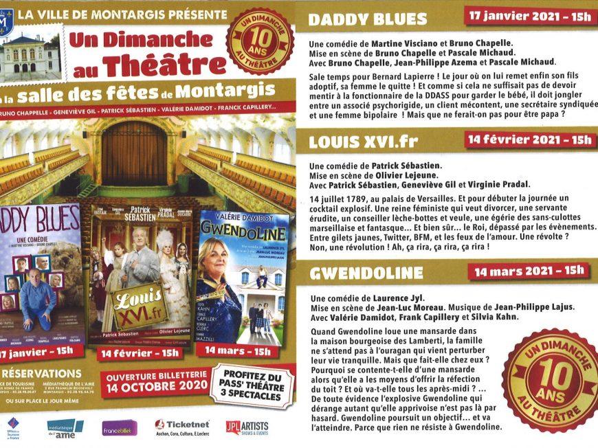 Un Dimanche au Théâtre à MONTARGIS © Mairie de Montargis