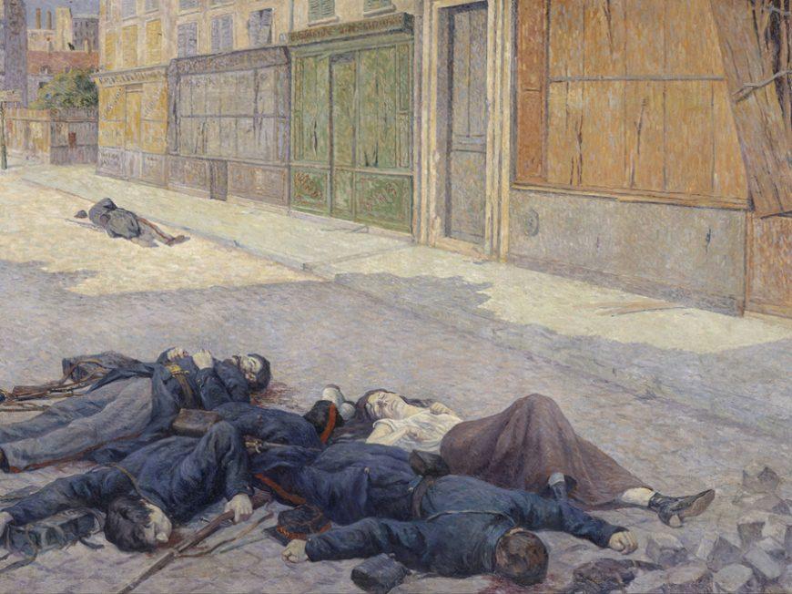 Conférence de Quentin Deluermoz : La commune de Paris : Guerre civile et révolution au coeur de Paris» à LOIGNY-LA-BATAILLE © musee de loigny