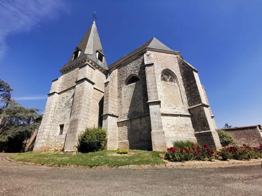Eglise de Villeau à EOLE-EN-BEAUCE © mtcb