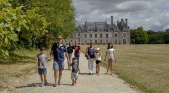 Visite en famille du château de Beauregard