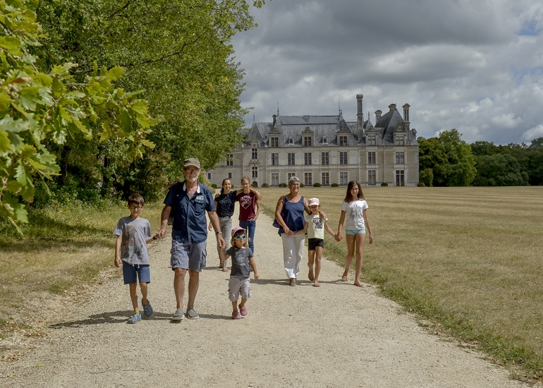 Parc & Château de Beauregard à CELLETTES © L.Alvarez-ADT41