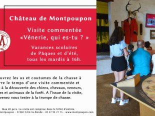 Visite commentée «Vènerie, qui es-tu ?» au Château de Montpoupon à CERE-LA-RONDE - 2  © château de Montpoupon