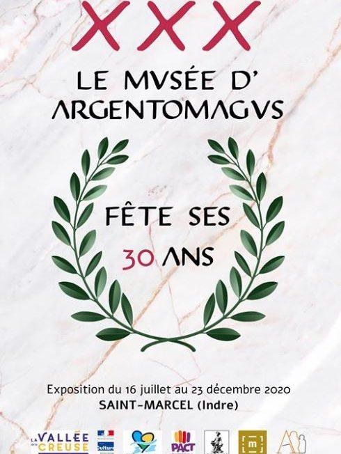 Le musée d'Argentomagus fête ses 30 ans à SAINT-MARCEL © argentomagus