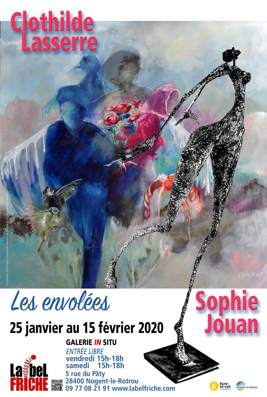 Exposition Les Envolées à NOGENT-LE-ROTROU © galerie in situ