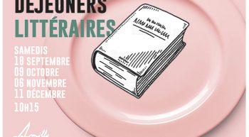 Affiche Petits Déjeuner Littéraires