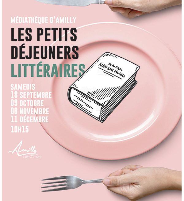 Les Petits Déjeuners Littéraires à AMILLY © Amilly