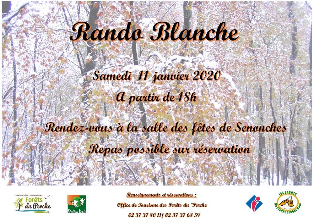 Rando Blanche au clair de lune à SENONCHES © OFFICE DE TOURISME