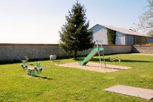 Aire de jeux Allaines à BAUDREVILLE © letort