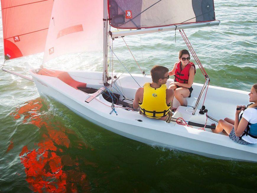 Tous en bateau à MONTARGIS © USMM Voile