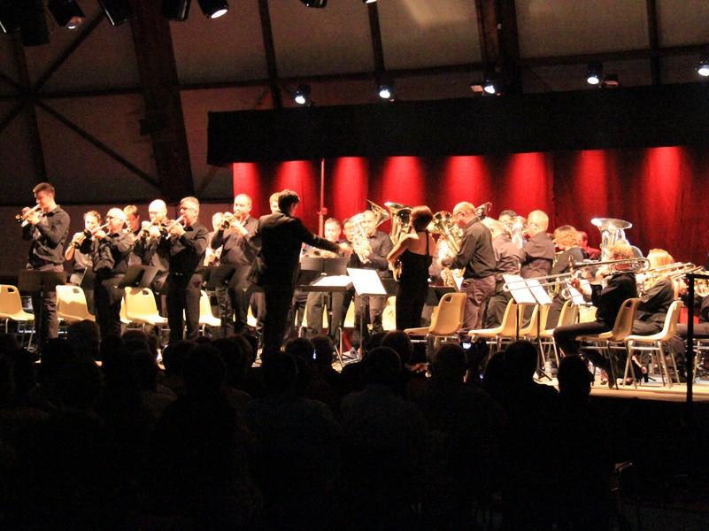 Concert de Gala Du Festival Brass Band en Bourgueillois à BOURGUEIL © Declic Photo Bourgueil