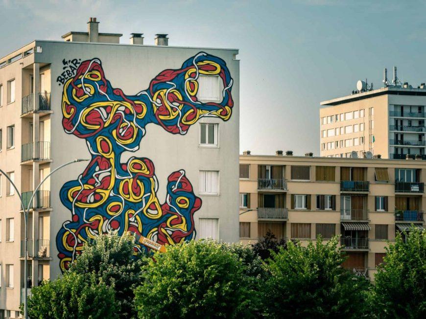 Visite Street Art à MONTARGIS © Fab Collage