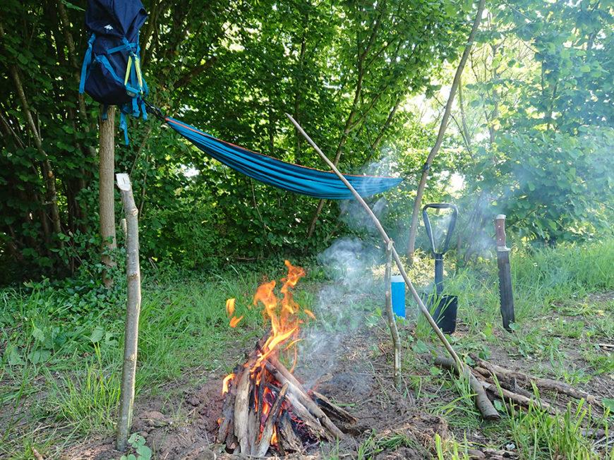 Bivouac nature & survie douce à LANGEAIS - 1
