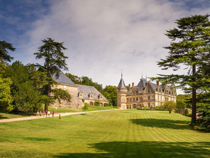 Château de la Bourdaisière à MONTLOUIS-SUR-LOIRE © ADT Touraine / Jean-Christophe Coutand