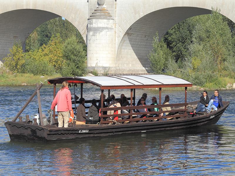 Balade en bateau sur la Loire – Boutavant à TOURS ©  Sébastien Andréi