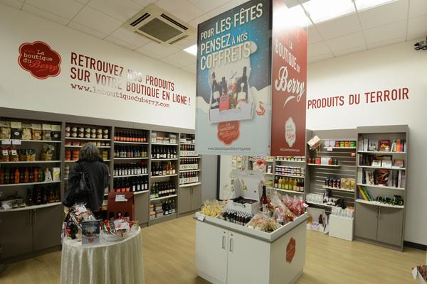 Boutique du Berry à VIERZON © OT Vierzon