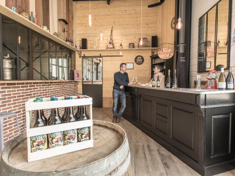 Brasserie de la Rodaie à SAINT-NICOLAS-DE-BOURGUEIL © Crédit Jerome Paressant