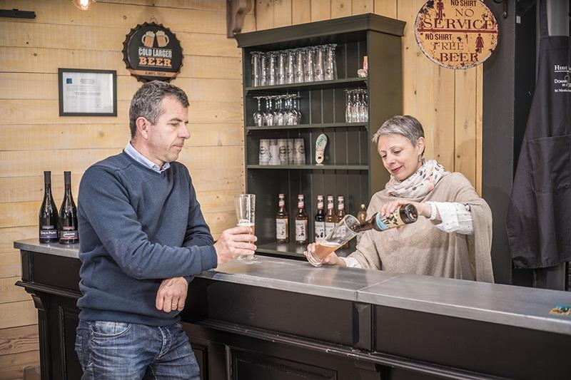 La belle affaire, visite de la Brasserie de la Rodaie à SAINT-NICOLAS-DE-BOURGUEIL © Jerome Paressant