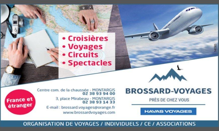 Brossard Voyages et Havas Voyages à MONTARGIS © Brossard Voyages