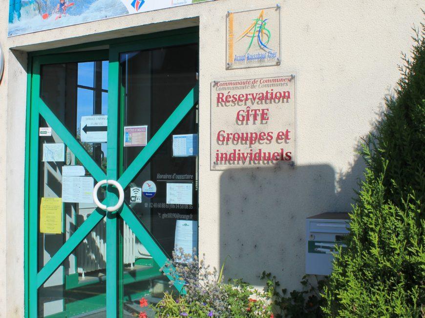 Bureau d'informations touristiques Chateauneuf-sur-Cher à CHATEAUNEUF-SUR-CHER © Marine Baron