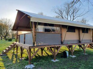 Camping Les Patis à NAZELLES-NEGRON - 10  © Camping Les Pâtis