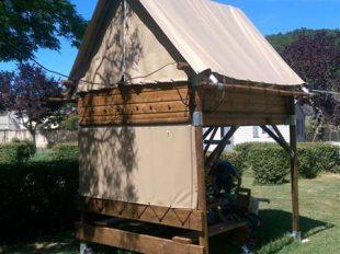 Camping Les Patis à NAZELLES-NEGRON - 5  © Camping Les Pâtis