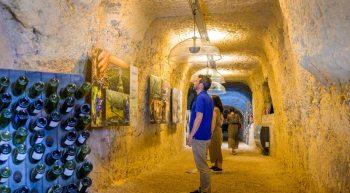Caves Ambacia – Parcours multimédia «L'Odyssée des millésimes»