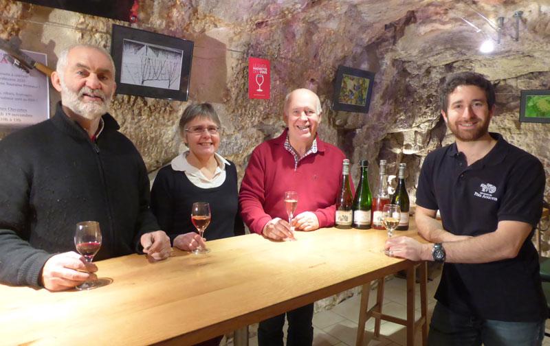 VinoLoire, Wine-Tours à CIVRAY-DE-TOURAINE © Caves du Père Auguste