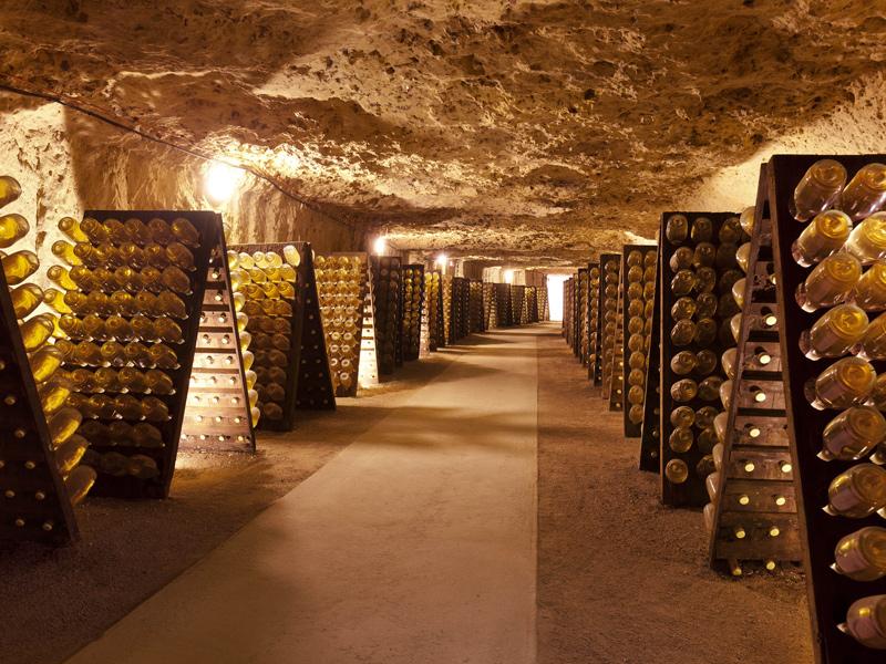 Blanc Foussy – Grandes Caves Saint Roch à ROCHECORBON ©  Blanc Foussy