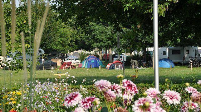 Aire de services pour camping-cars – Val de Flux à BEAUGENCY © cc bcy
