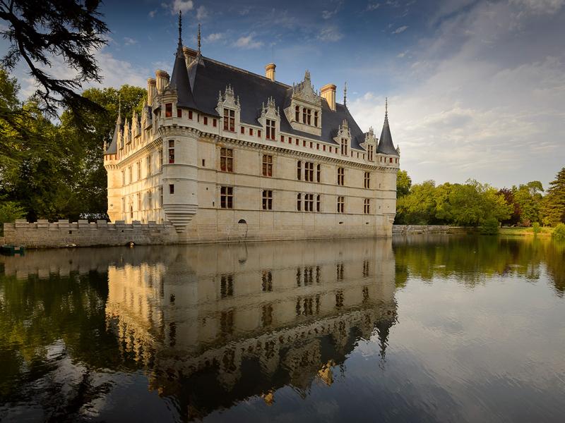 Château d'Azay-le-Rideau à AZAY-LE-RIDEAU © Léonard de Serres