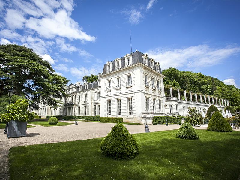 Château de Rochecotte à COTEAUX-SUR-LOIRE © château de Rochecotte