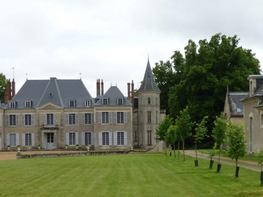 Château de Cambray – L'ancienne Maison du gardien à EOLE-EN-BEAUCE © mtcb