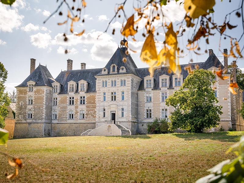 Château de Marcilly-sur-Maulne à MARCILLY-SUR-MAULNE © Jean-Christophe COUTAND